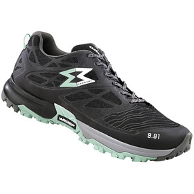 Garmont 9.81 Grid Shoes Women Black/Light Green